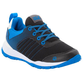 Jack Wolfskin Cascade Low-Cut Schuhe Kinder black/blue